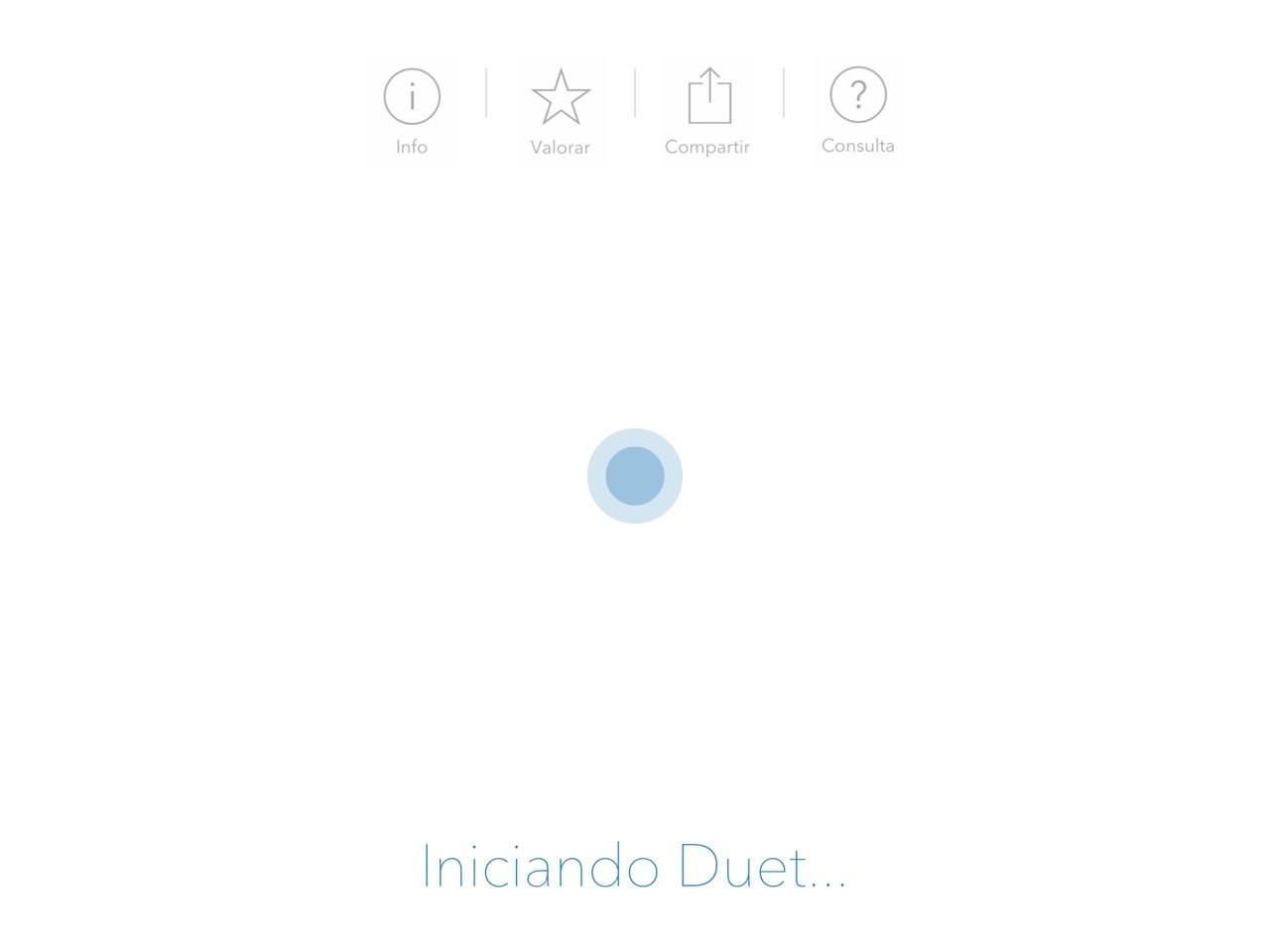 Duet App en el iPad