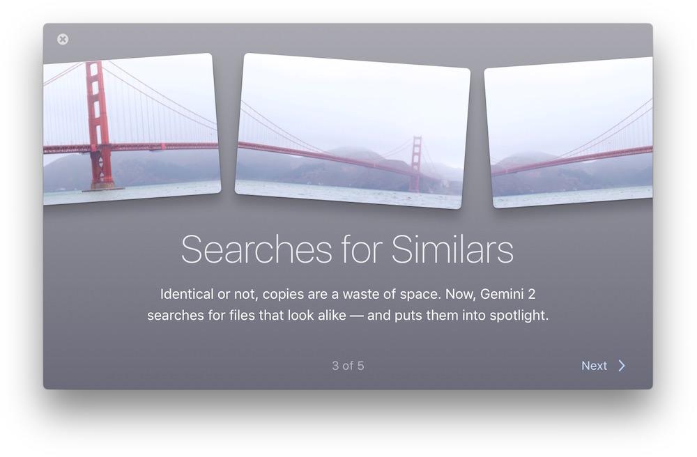 Gemini detectando archivos similares