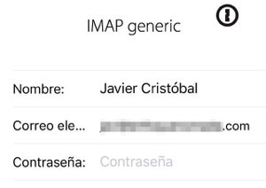 Airmail iPhone integración con 1Password