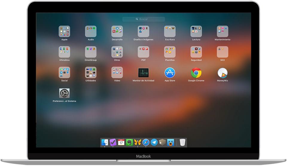 Limpieza primaveral digital del Launchpad de Mac