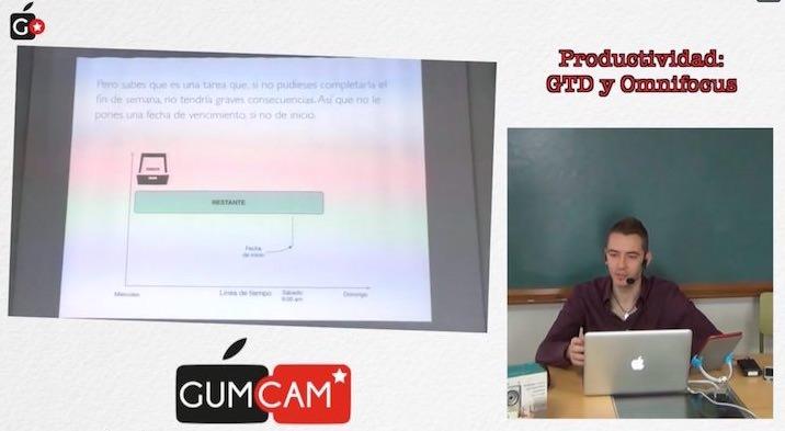 Charla sobre OmniFocus y GTD en el GUMCAM
