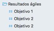 3 objetivos en OmniFocus
