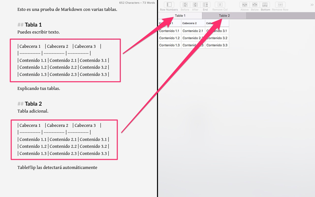 Abrir documentos con TableFlip