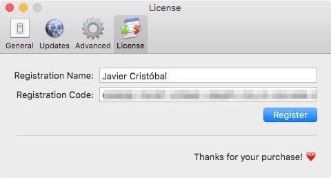 Licencia de TableFlip