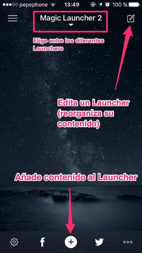 Magic Launcher Pro app
