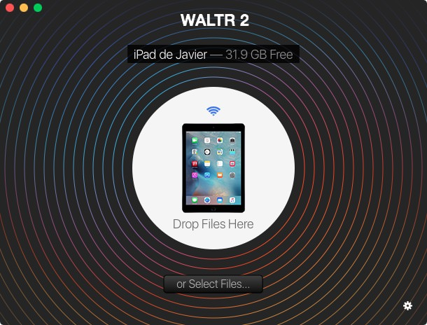 Transferir archivos WiFi Waltr2