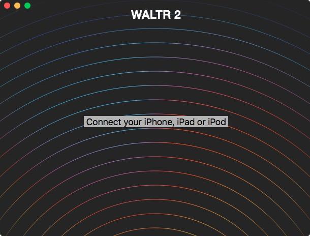 Pantalla principal de Waltr 2