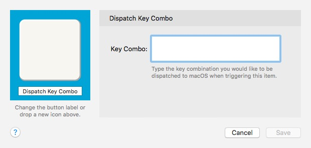 Dispatch Key Combo Alfred Remote