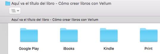 Libros exportados con Vellum