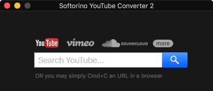 Buscador integrado de Youtube en Softorino Youtube Converter