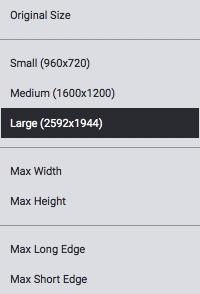 Redimensión de imágenes en JPEGmini
