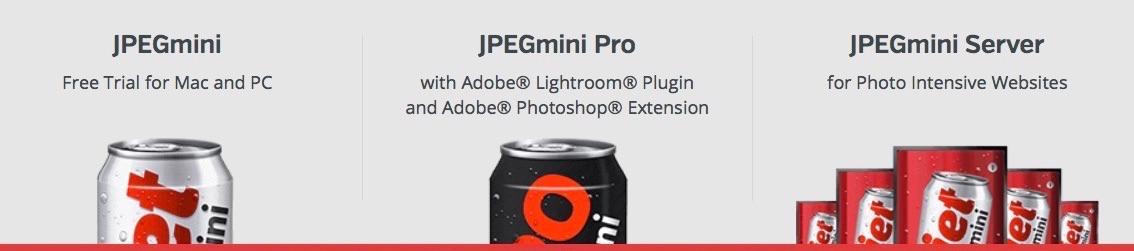 Versiones de JPEGmini