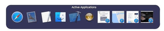 Aplicaciones activas en SuperTab