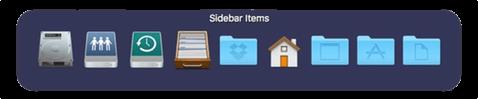 Elementos del Sidebar con SuperTab