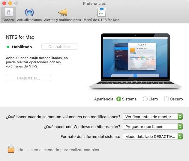 Driver NTFS for Mac de Paragon